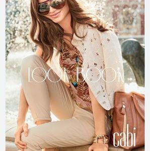 CABI | Cropped Lace Portrait Jacket